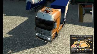 EuroTrucks2 ONLINE - Конвой поездочка:) (часть1- 2015 06 11)