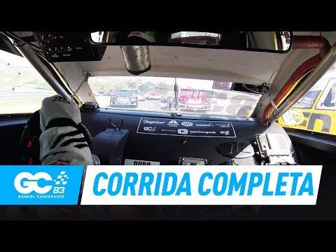 STOCK CAR INTERLAGOS 2017 - CORRIDA COMPLETA ONBOARD - GABRIEL CASAGRANDE