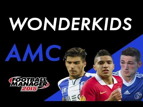 Football Manager 2015 | WONDERKIDS | CENTRAL ATTACKING MIDFIELDER