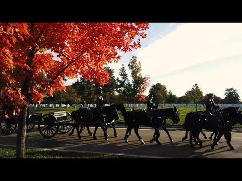 Autumn in Arlington National Cemetery