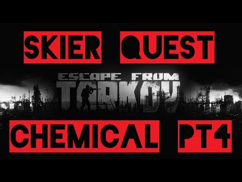 Skier Quest Chemical Part 4 Escape from Tarkov German 4K