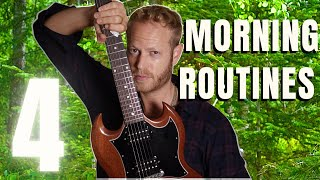 4 Morning Guitar Practice Routines (that I love)
