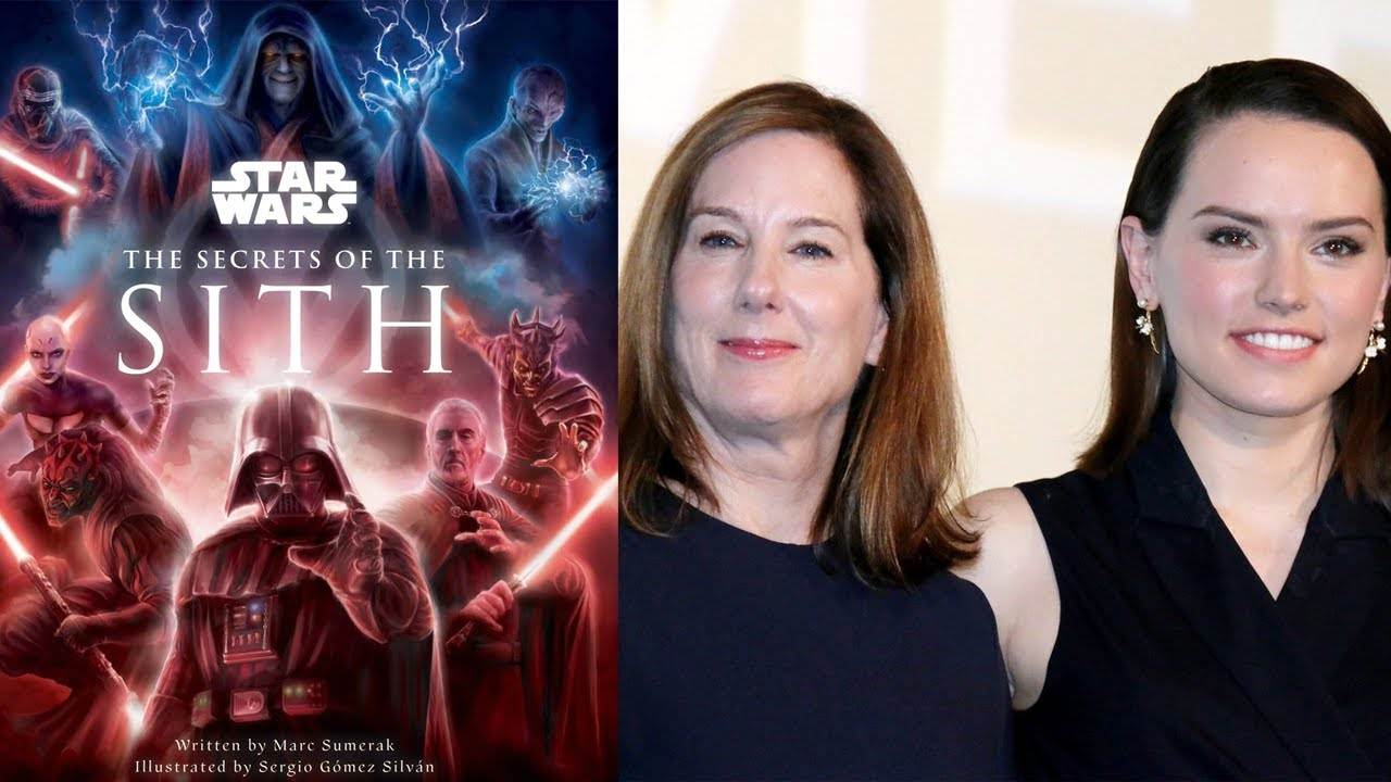 Secrets of the Sith Book Prequels Continuity, Daisy Ridley and Kathleen Kennedy Meet - Nerd Theory