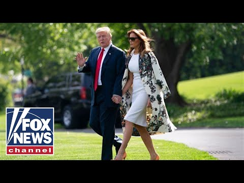 President Trump, first lady Melania host White House Easter Egg Roll