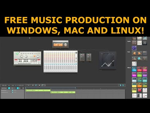 Free Music Production Tool For Windows / Mac / Linux – audiotool.com