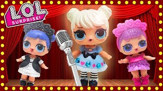 LOL Surprise Dolls Perform A Musical Review! Starring Sugar Queen, MC Swag, Dollface, and Beats!