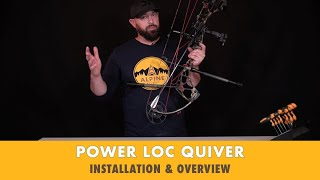 Alpine Archery - Power Loc: 4 Arrow Quiver - Installation and Overview