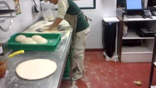 Pizza Slapping and tossing