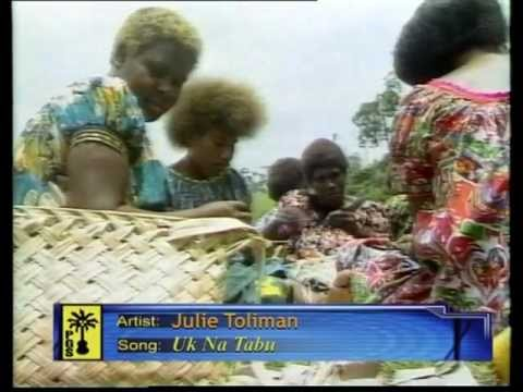 JULIE TOLIMAN of Rabaul-