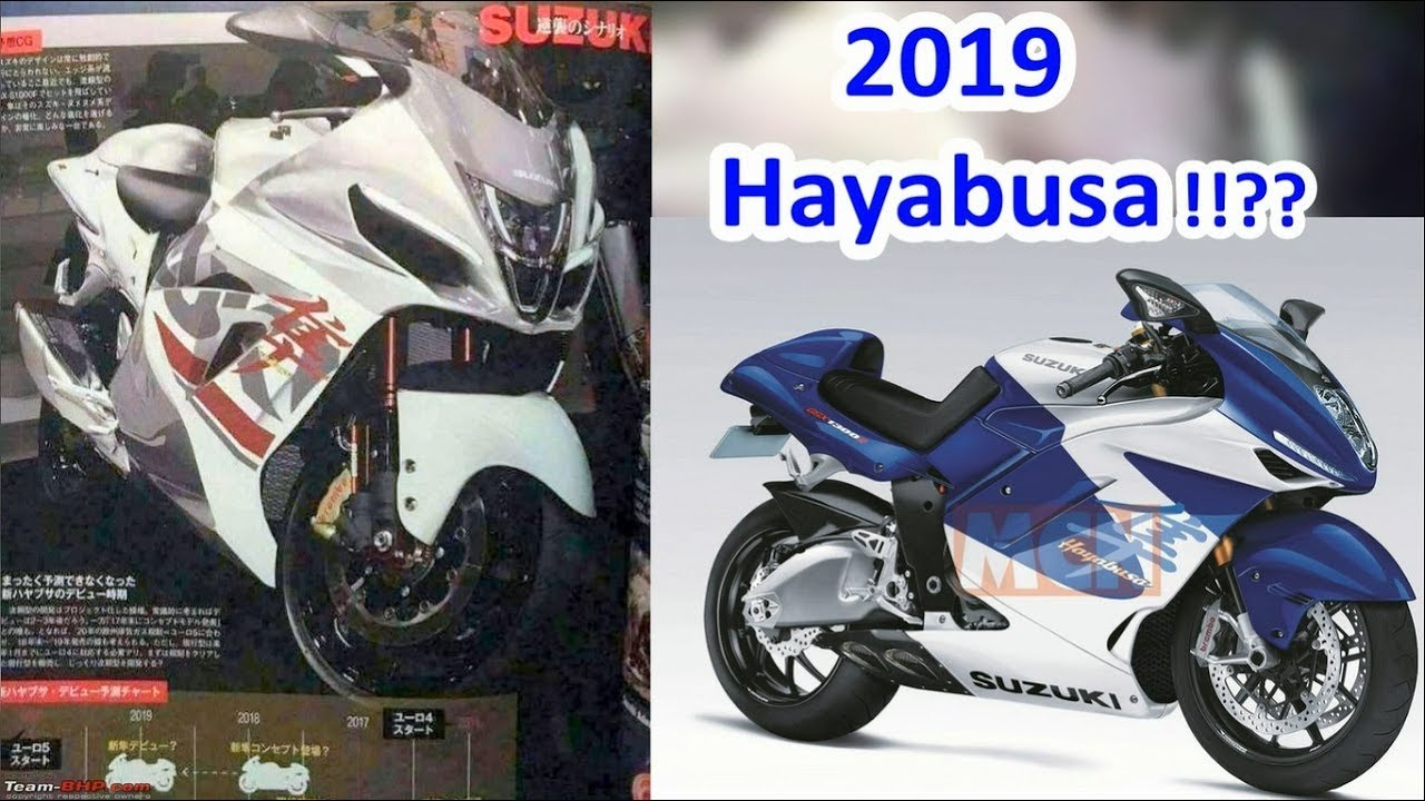 2019 Suzuki Hayabusa (turbo??) - The Japanese falcon will be here soon