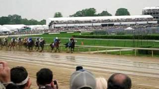 2009 Kentucky Derby 135 Backside Rail Perspective