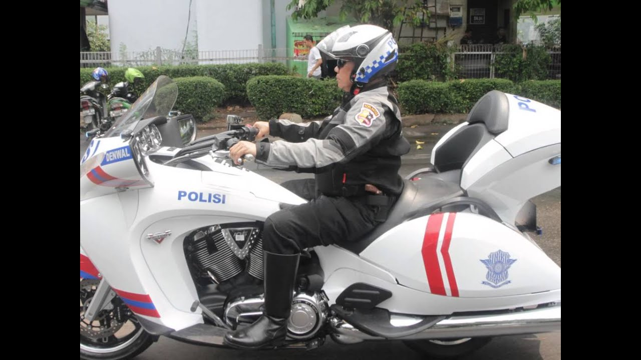 Victory Motorcycles 4 Indonesia Police Youtube