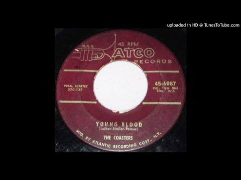 The Coasters-Youngblood/Searchin' 1957 Original MAROON LABEL R & B 45 45