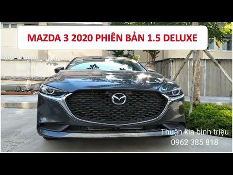 MAZDA 3 2020 I Chi tiết MAZDA 3 2020 phiên bản 1.5 DELUXE - Ưu đãi cực khủng lên đến 50tr