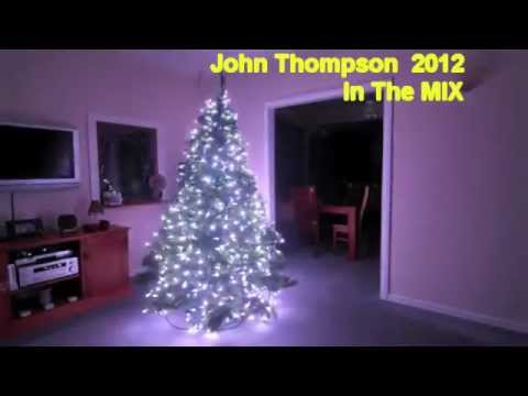 Christmas LED Tree computer light Show Saxobeat xmas remix by John Thompson 2012