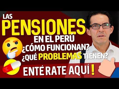 Las #PENSIONES en el #Perú. ¿Cómo funcionan? ¿Qué problemas tienen? #ONP #AFP
