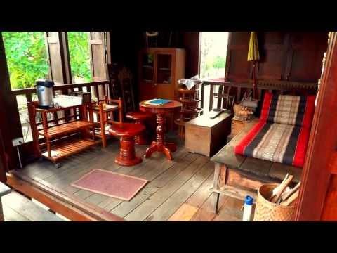 Traditional Thai House on stilts