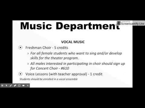 ART and MUSIC - 8th grade North Hunterdon