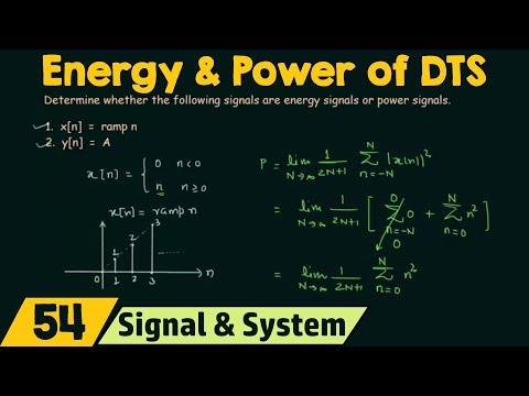Energy and Power of Discrete-Time Signals