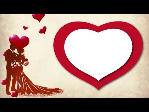Beautiful Love After Effect Title Background || Heart Shape Wedding Background || DMX HD BG 278 thumbnail