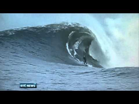 40ft wave confirms Ireland's status as surfers' paradise