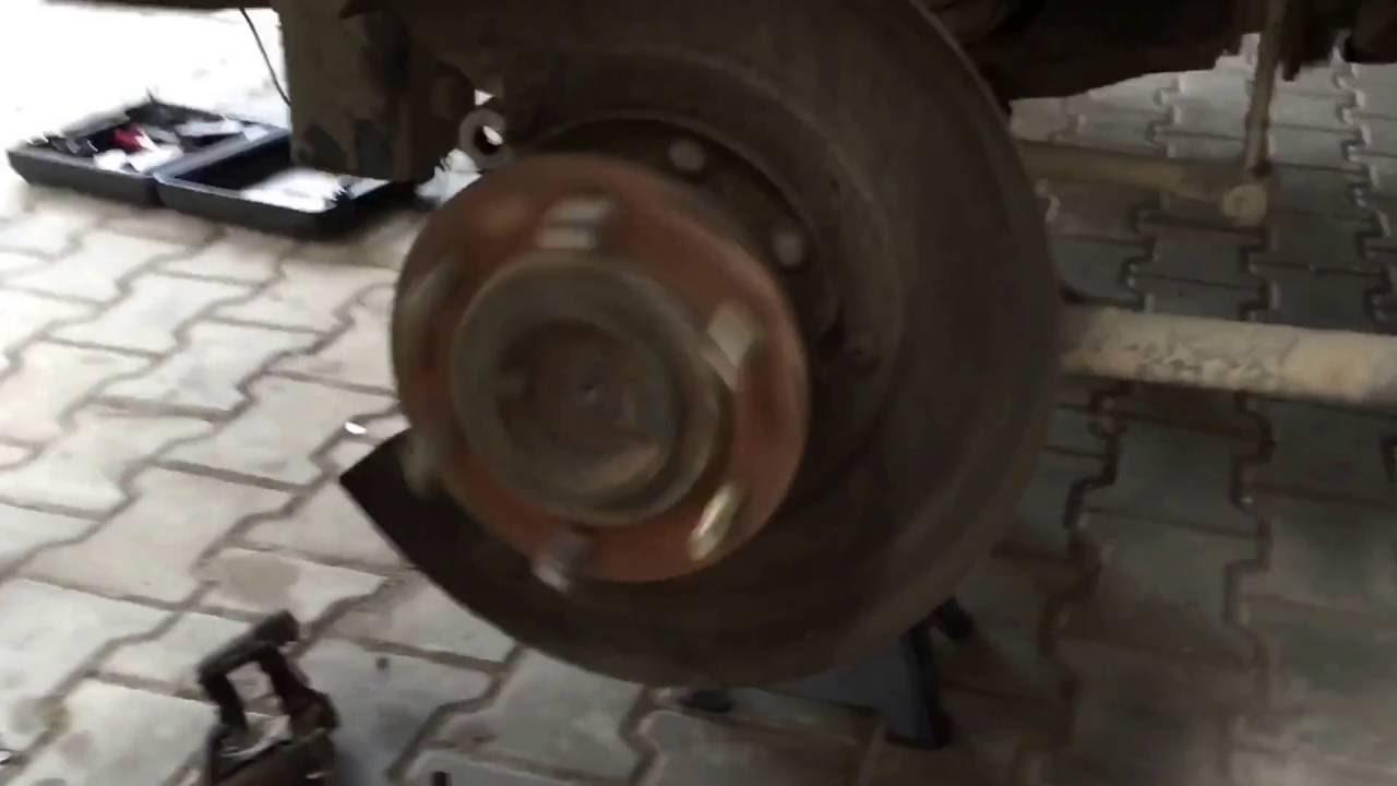 Wheel Bearing Noise >> Nissan patrol GU rear right wheel noise - YouTube