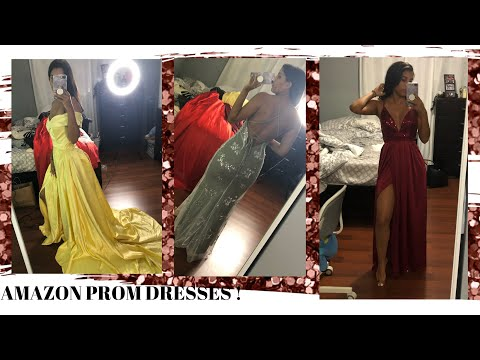 trying-on-amazon-prom-dresses-|-fail-or-success?!