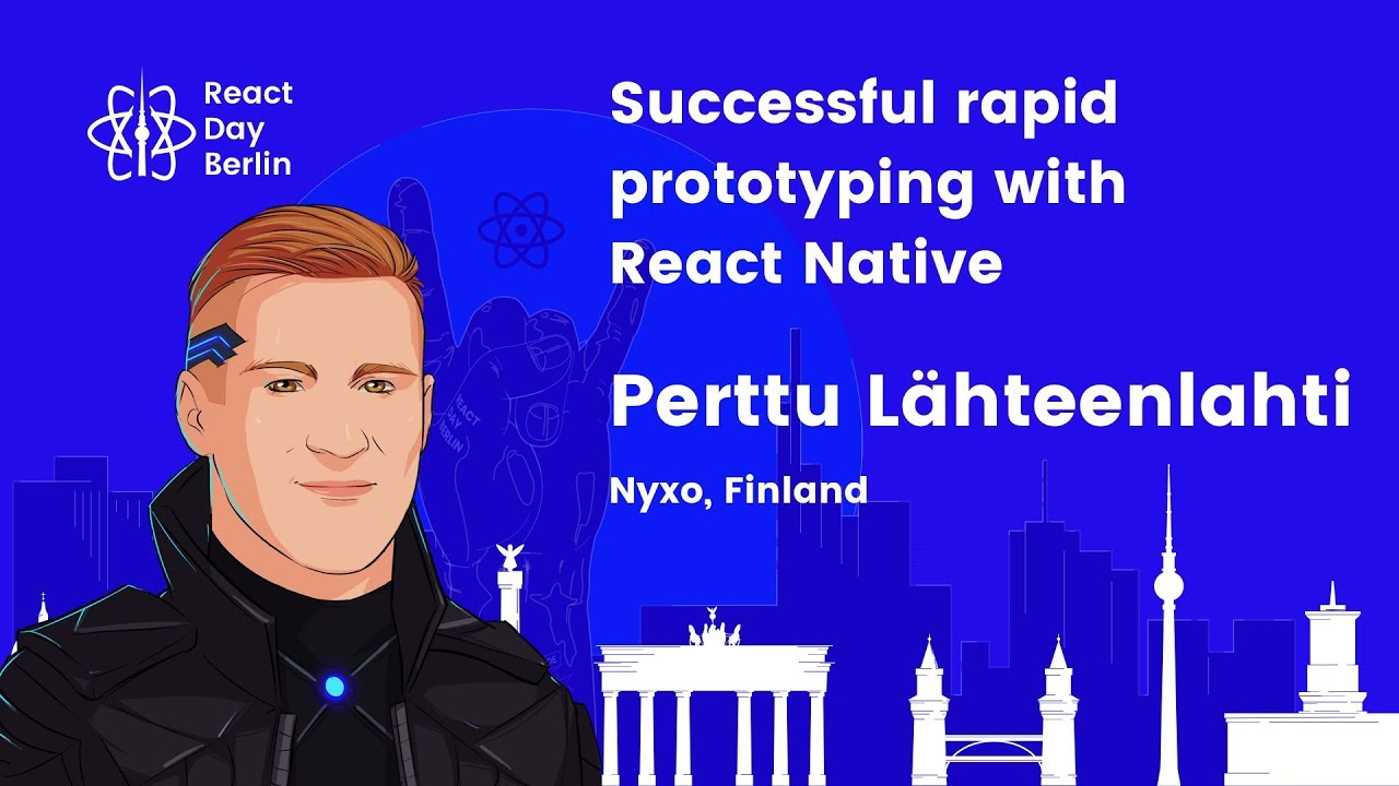 Successful rapid prototyping with React Native – Perttu Lähteenlahti