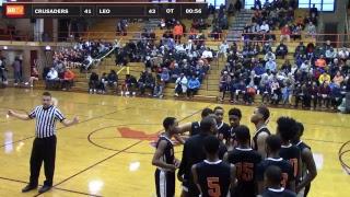 Sophomore Basketball vs. Leo