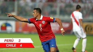 Perú 3 - 4 Chile | Eliminatorias Rusia 2018 | Alberto Jesús López