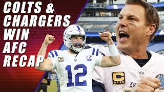 Chargers & Colts Win: AFC Wild Card Edition