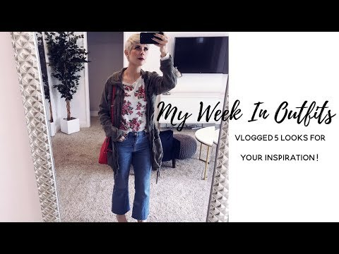 5 SPRING OUTFITS FOR YOUR INSPIRATION  | MY WEEK IN STYLE