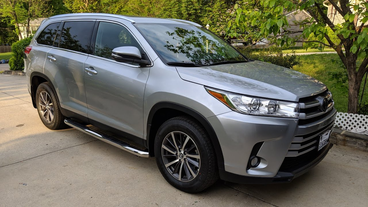 2019 toyota highlander running boards installation youtube 2019 toyota highlander running boards installation