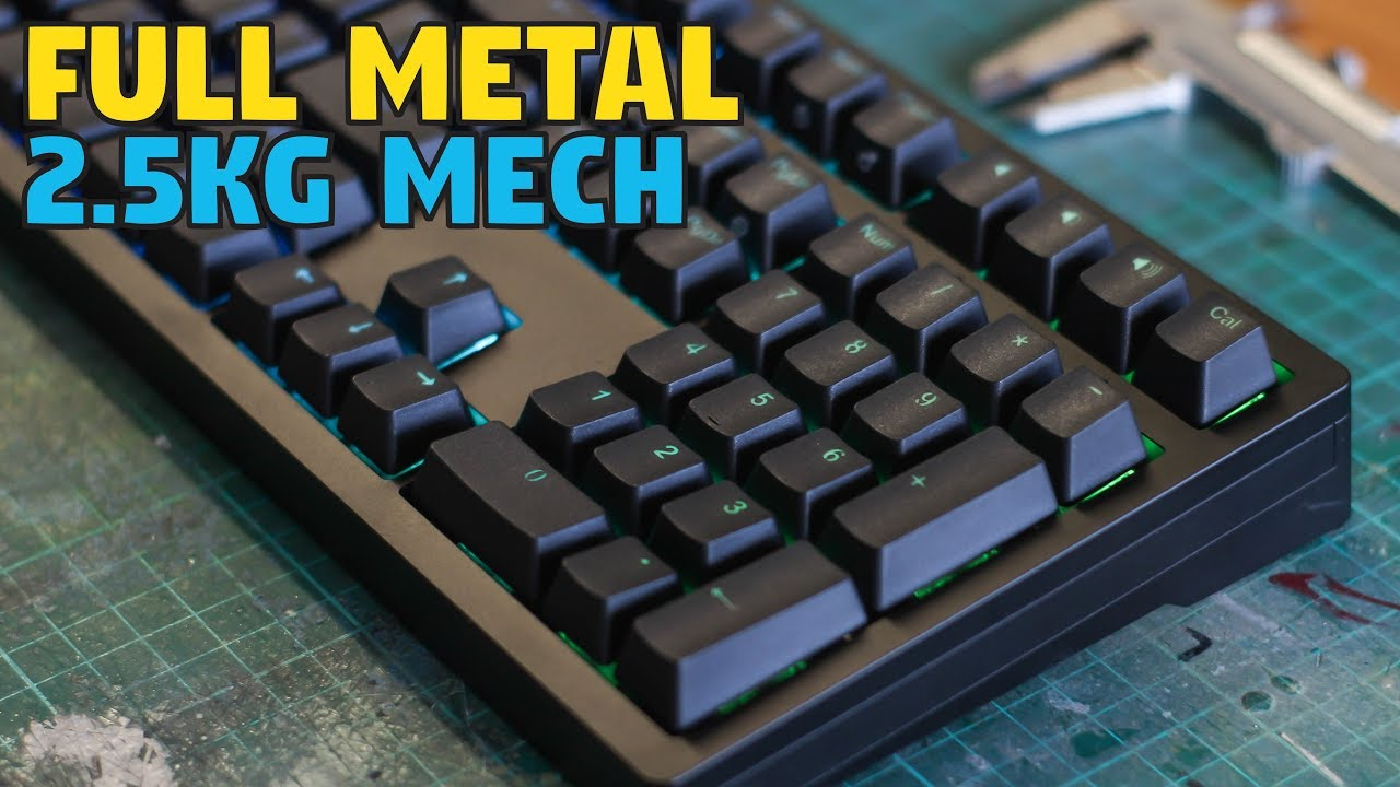 iKBC MF108 RGB ALUMINIUM Mechanical Keyboard - Unboxing & Review