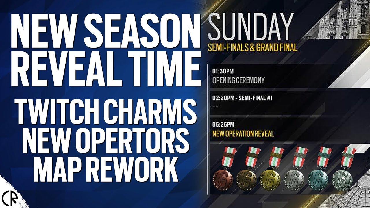 New Season Reveal Date & Time - 6News - Tom Clancy's Rainbow Six Siege