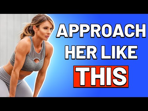 THIS is HOW TO GET GIRLS AT THE GYM | How to Approach A Girl at the Gym