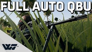 FULL AUTO QBU - Love getting kills like this - PUBG