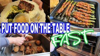 FAST & DELICIOUS MEALS USING CONVENIENCE FOODS | Large Family Meals