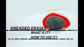 Gambar cover Kneaded Eraser for Beginners