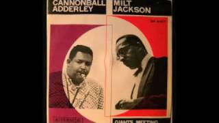 Giants Meeting. Cannonball Adderley & Milt Jackson. Blues Oriental
