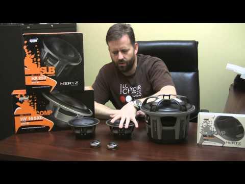 SQ Car Audio Project Update Hertz Speakers!