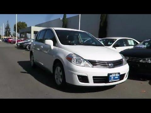 2012 Nissan Versa S Hatchback San Jose  Sunnyvale  Hayward  Redwood City  Cupertino