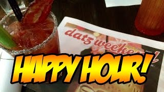 Happy Hour Cocktails - Datz Tampa Florida with Mariah Milano