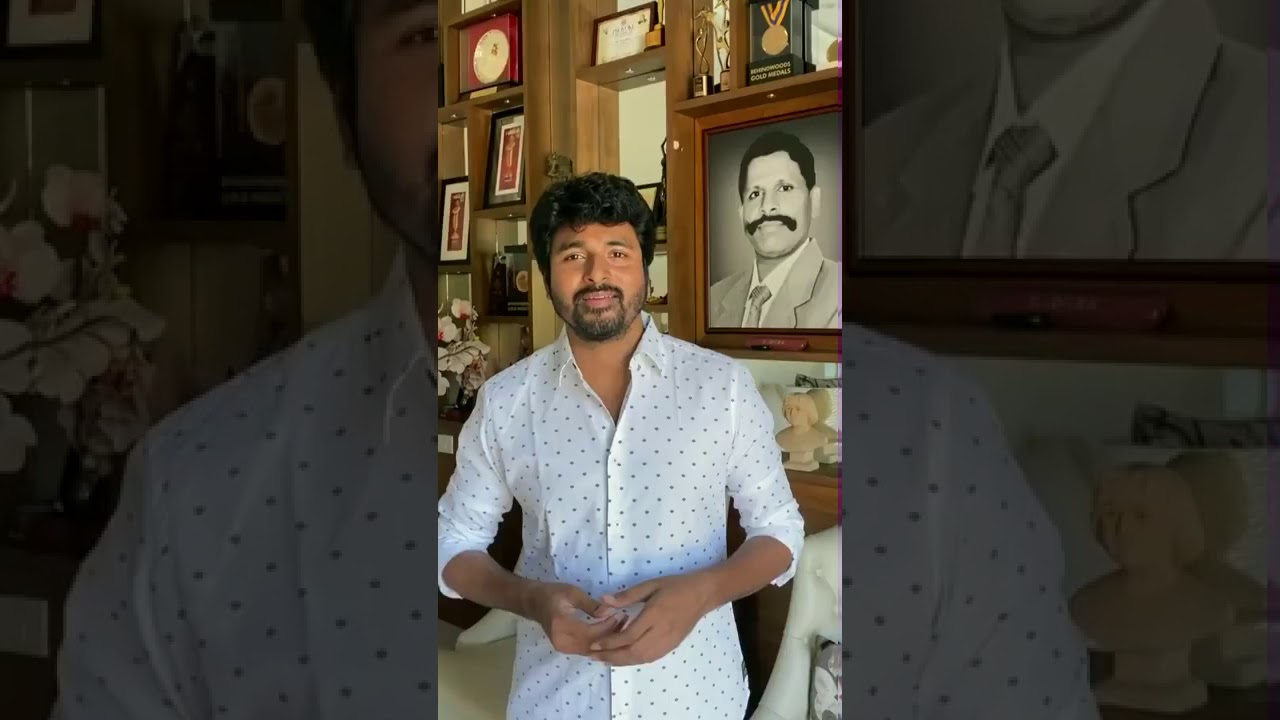 Actor Sivakarthikeyan Latest speech Video  #corono