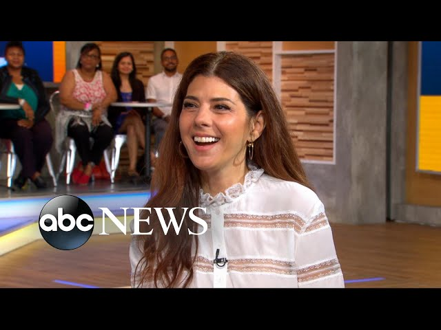 Marisa Tomei dishes on Spider-Man: Homecoming