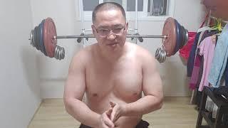 벤치프레스 140kg 위험한 도전 !