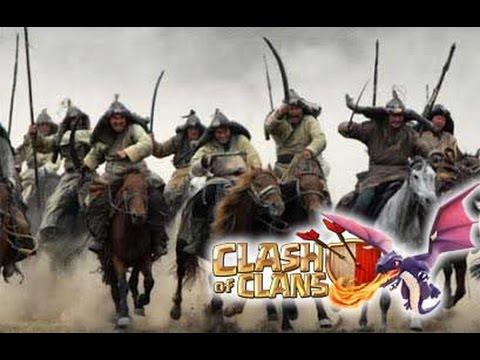 Clash Of Clans - Lanhut Insaf vs madagascar ( in mongol theme )