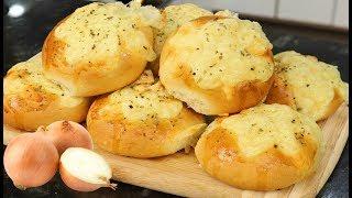Pão de Cebola Fofinho e Delicioso