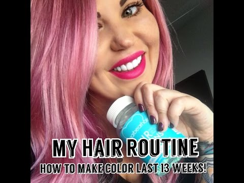 How To Keep Your Color Vibrant For 13 Weeks!
