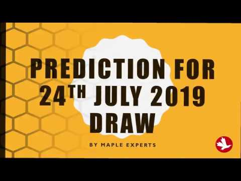🇨🇦 🇨🇦 Predictions for the next Draw for 24 JULY 2019